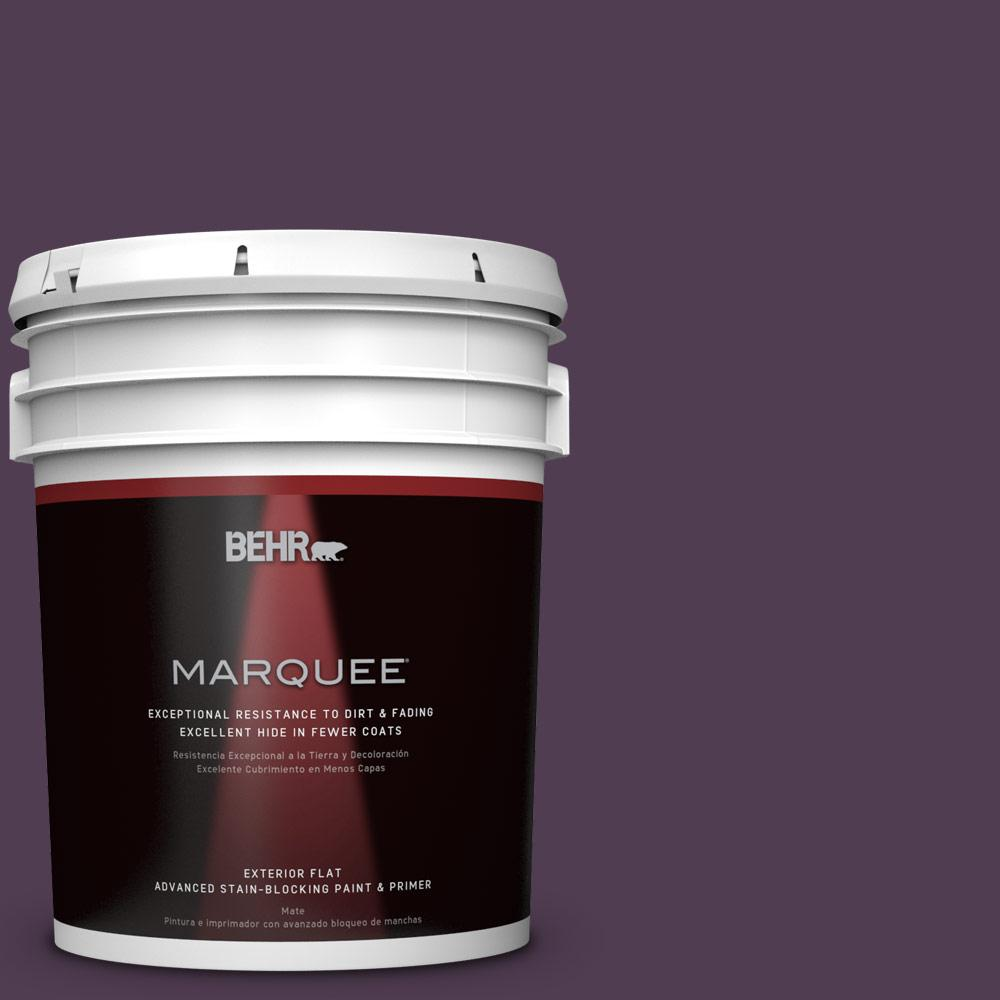 BEHR MARQUEE 5-gal. #S-H-690 Interlude Flat Exterior Paint