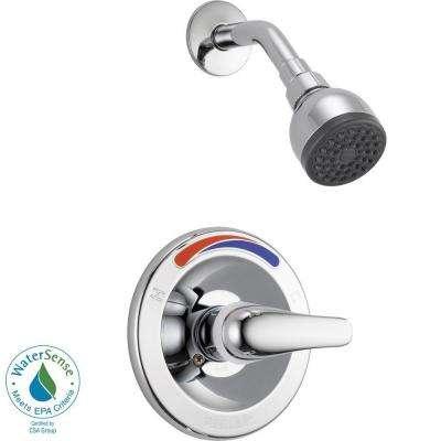 Single-Handle Shower Faucet Trim Kit in Chrome (Valve Not Included)