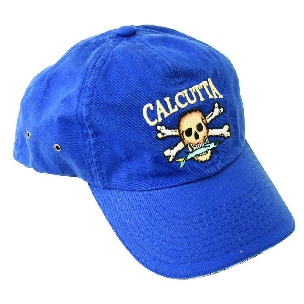 Adjustable Strap Low Profile Baseball Cap in Royal Blue with Fade-Resistant