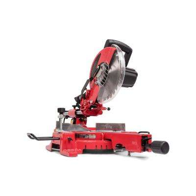 15 Amp 10 in. Sliding Miter Saw with Laser Guidance System