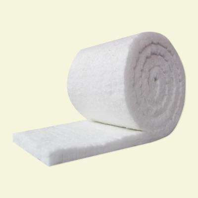 R-5,Unfaced,Ceramic Fiber Insulation Blanket Roll 2 in. x 24 in. x 50 in. for Kilns,Ovens,Stoves and More