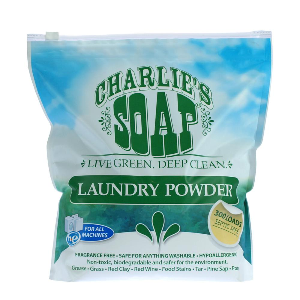 Charlies Laundry Powder Review: Charlie's Soap Fragrance Free Laundry Powder (300-Loads