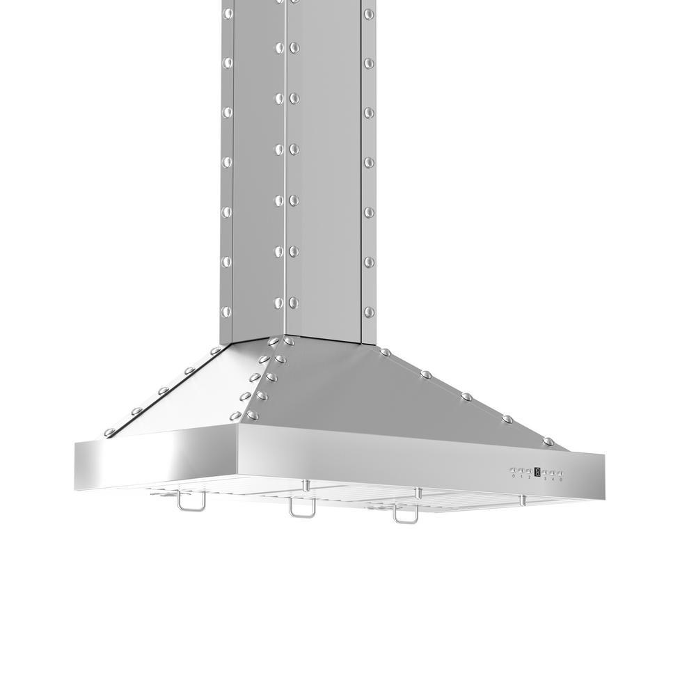 Zline Kitchen And Bath 42 In 760 Cfm Wall Mount Range Hood Stainless Steel