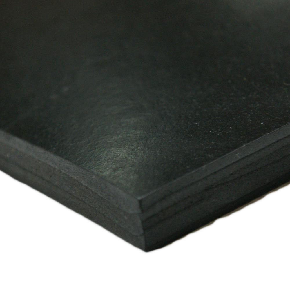 "Black, JAMES 4060-1//16-10 1//16/"" Comm E 36/""x10 ft. Grade Buna-N Rubber Roll"