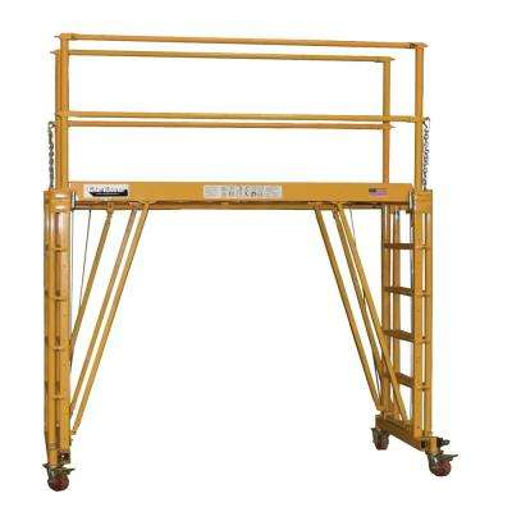 Adjustable Work Platform 8' Deck