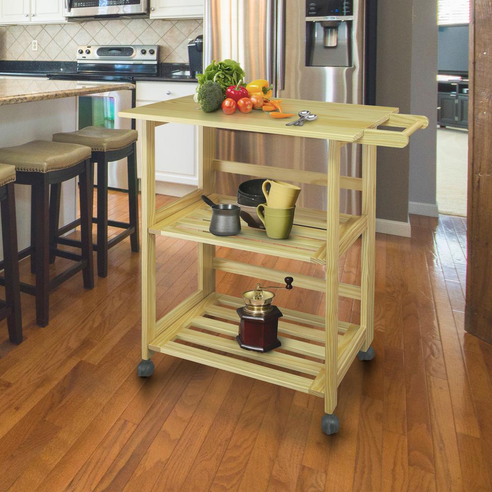 Trek Natural Kitchen Cart