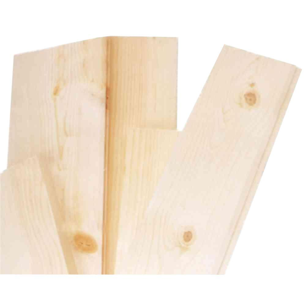 1 In X 12 In X 4 Ft Pine Common Board 458503 The Home
