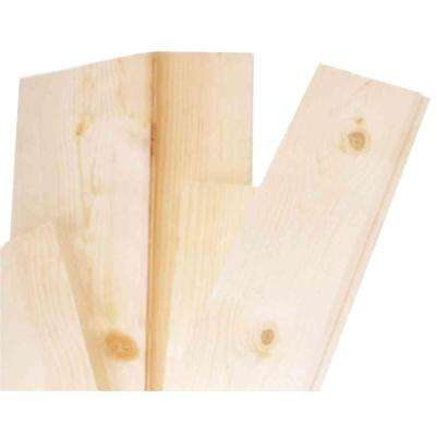 1 in. x 12 in. x 4 ft. Pine Common Board