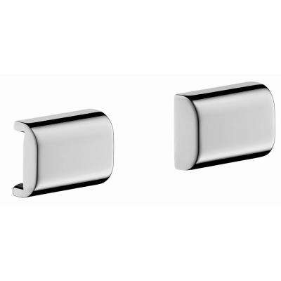 Axor Universal Back Cover for Rails in Chrome (2-Pieces)