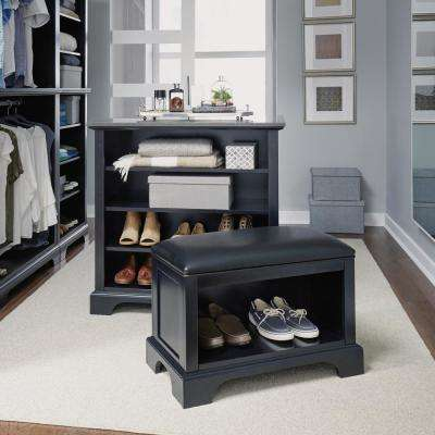 Bedford Black Storage Bench