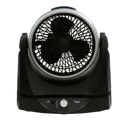 Brezza II 10 in. Dual Oscillating High Velocity Desk Fan