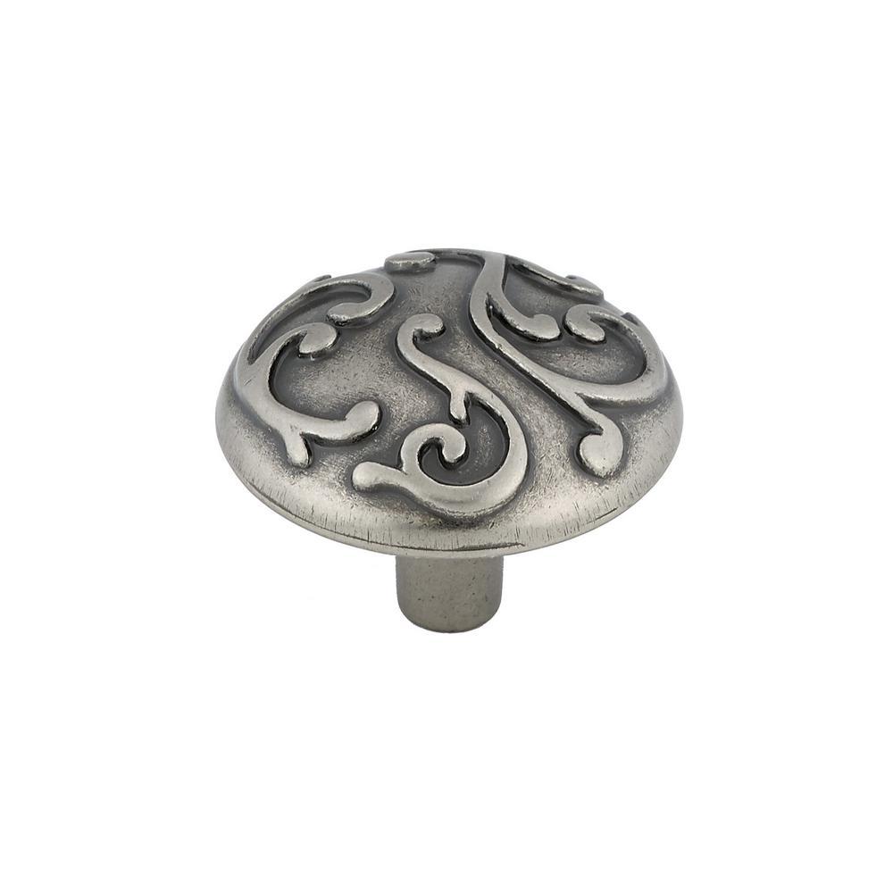 Richelieu Hardware 1-7/32 in. Faux Iron Cabinet Knob