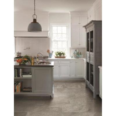Alpe Graphite 12 in. x 24 in. Porcelain Floor and Wall Tile (15.5 sq. ft./Case)
