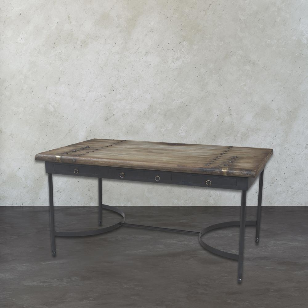 Null Castle Gate Signature Black Dining Table