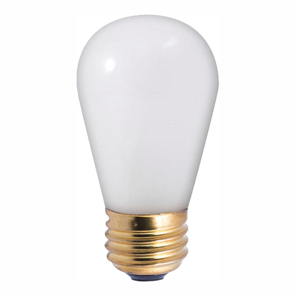 11-Watt S14 Frost Dimmable Warm White Light Incandescent Light Bulb (25-Pack)