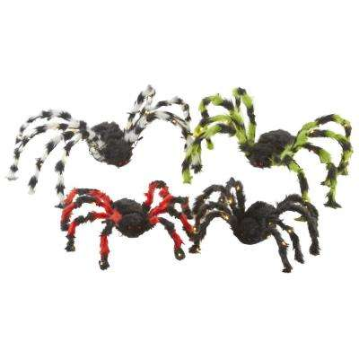 5 in. Battery Operated Spiders (Set of 4)