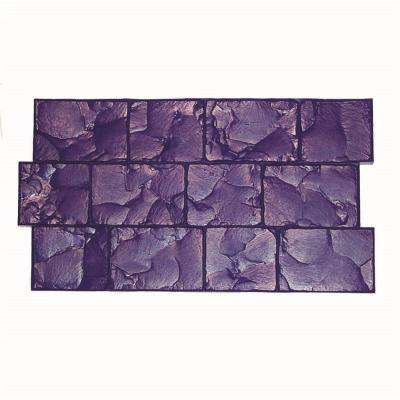 17 in. x 30 in. London Cobble Texture Mat Concrete Stamp