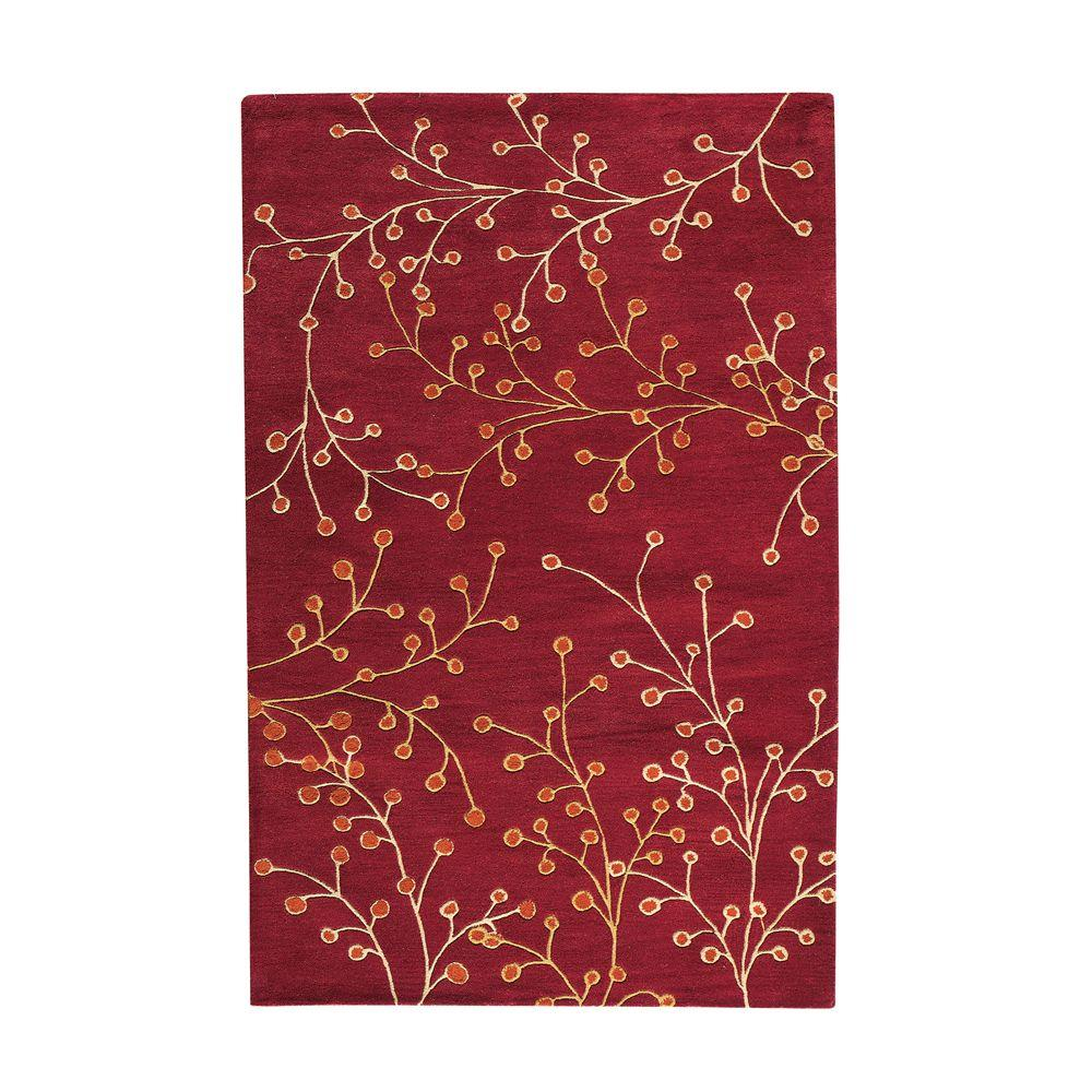 Home Decorators Collection Springtime Terra 5 ft. 3 in. x 8 ft. 3 in. Area Rug