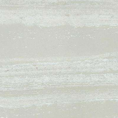 4 in. Cultured Marble Vanity Top Sample in Light Coco