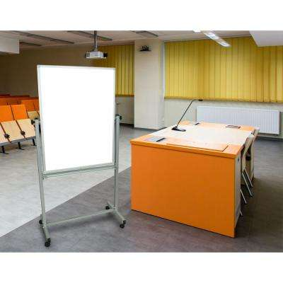 30 in. x 40 in. Mobile Board, White