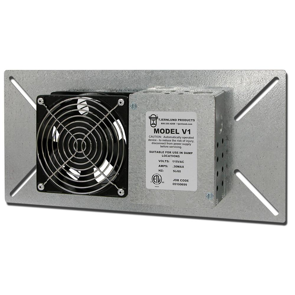 110 CFM Power Crawl Space Fan-V1 - The Home Depot