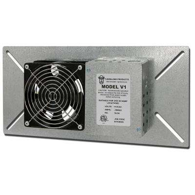 110 CFM Power Crawl Space Fan