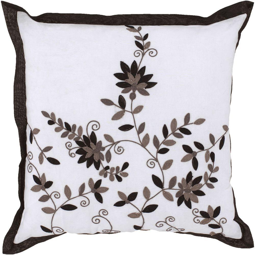 Artistic Weavers FloralB 18 in. x 18 in. Decorative Pillow-DISCONTINUED