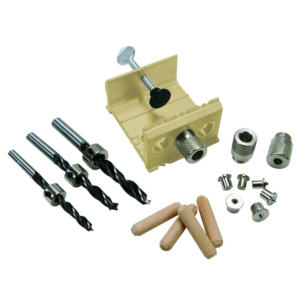 Aluminum EZ Dowel Joining Jig Kit
