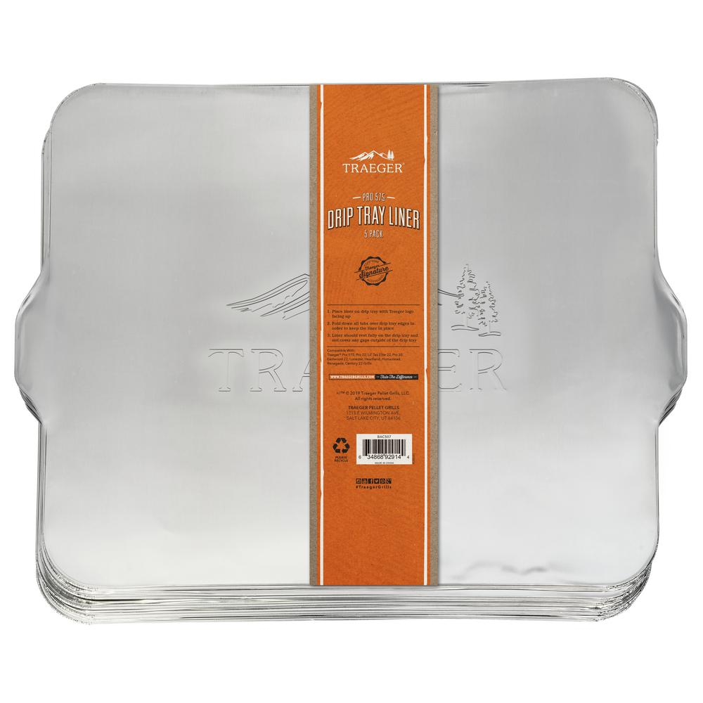 Traeger Drip Tray Liner 5 Pack - Pro 575