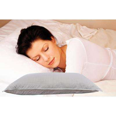 Exhilarate Queen Standard Micro Denier Fiber Bed Pillow 2 Pack