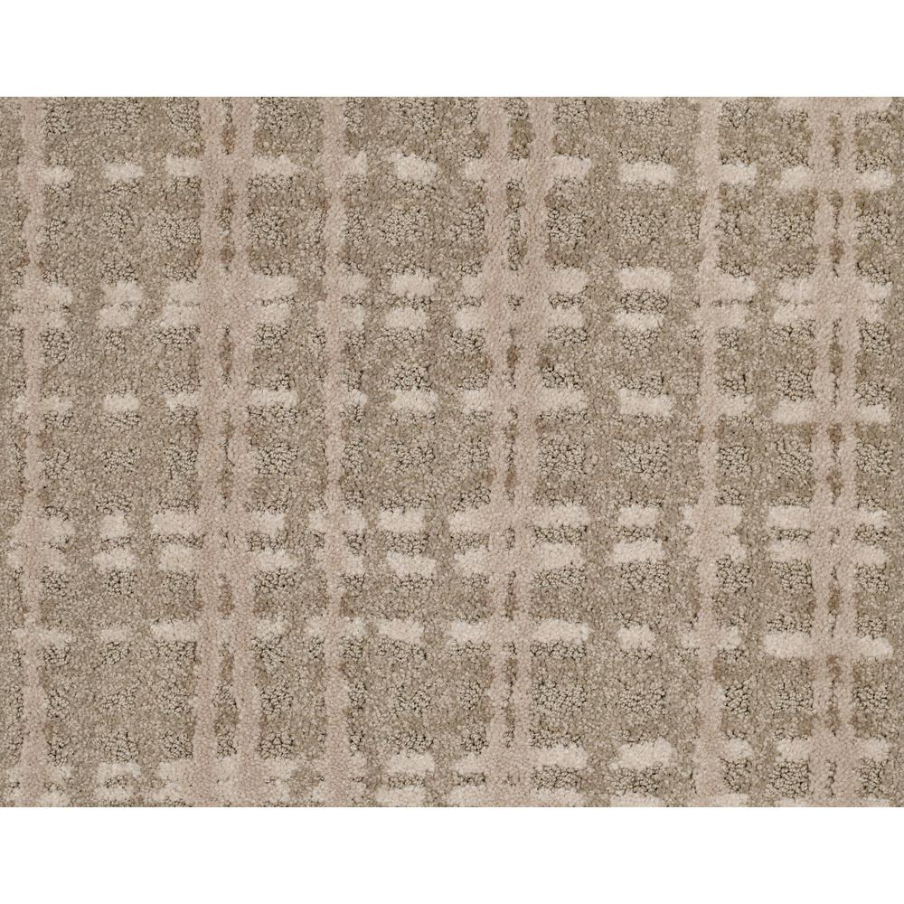 LifeProof Busy Day - Color Rocky Bluff Pattern 12 ft. Carpet