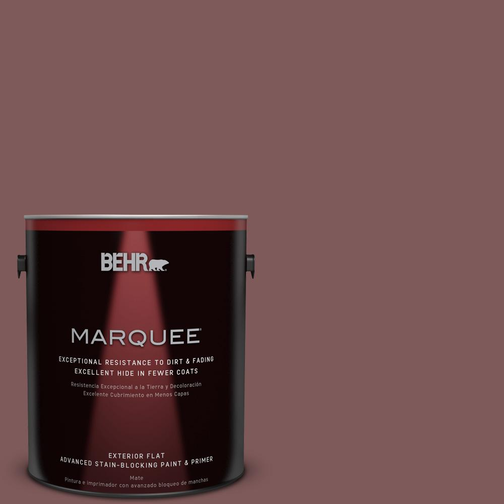 BEHR MARQUEE 1-gal. #140F-6 Book Binder Flat Exterior Paint