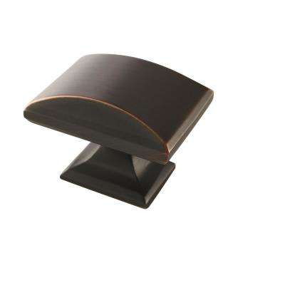 Candler 1-1/2 in (38 mm) Length Oil-Rubbed Bronze Cabinet Knob