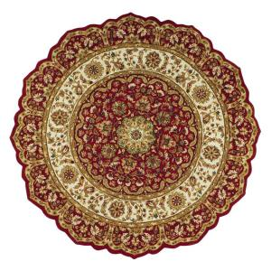 Home Decorators Collection Masterpiece Red 8 ft. Round Area Rug by Home Decorators Collection