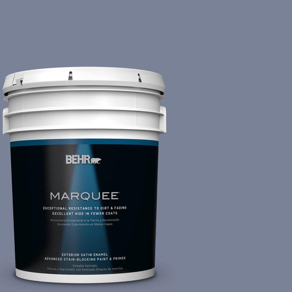 BEHR MARQUEE 5-gal. #PPU15-7 Tranquil Pond Satin Enamel Exterior Paint