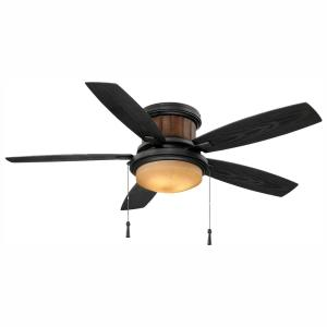 Hampton Bay Everstar II 44 in. Indoor Brushed Nickel Ceiling ... on