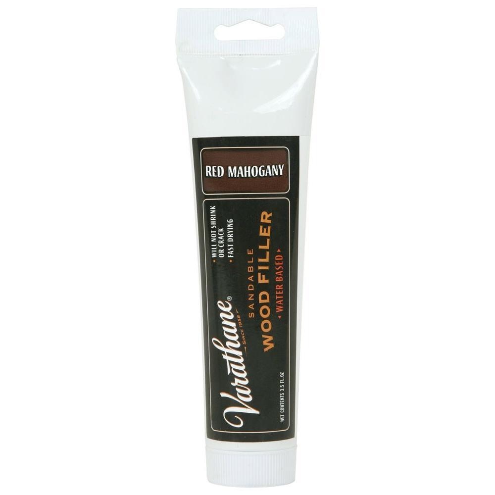 Varathane 3.5 oz. Red Mahogany Wood Filler (Case of 4)-215212 ...