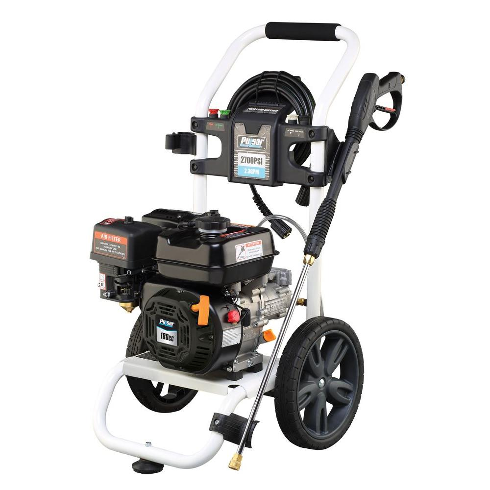 Pulsar 2,700 psi 2.3 GPM Axial Cam Pump Gas Pressure Washer