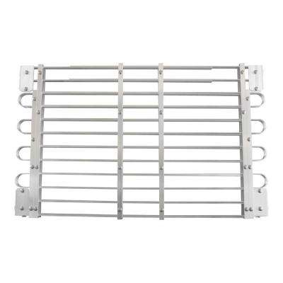 22 - 25 in. x 45 - 60 in. Adjustable Aluminum Window Well Grate