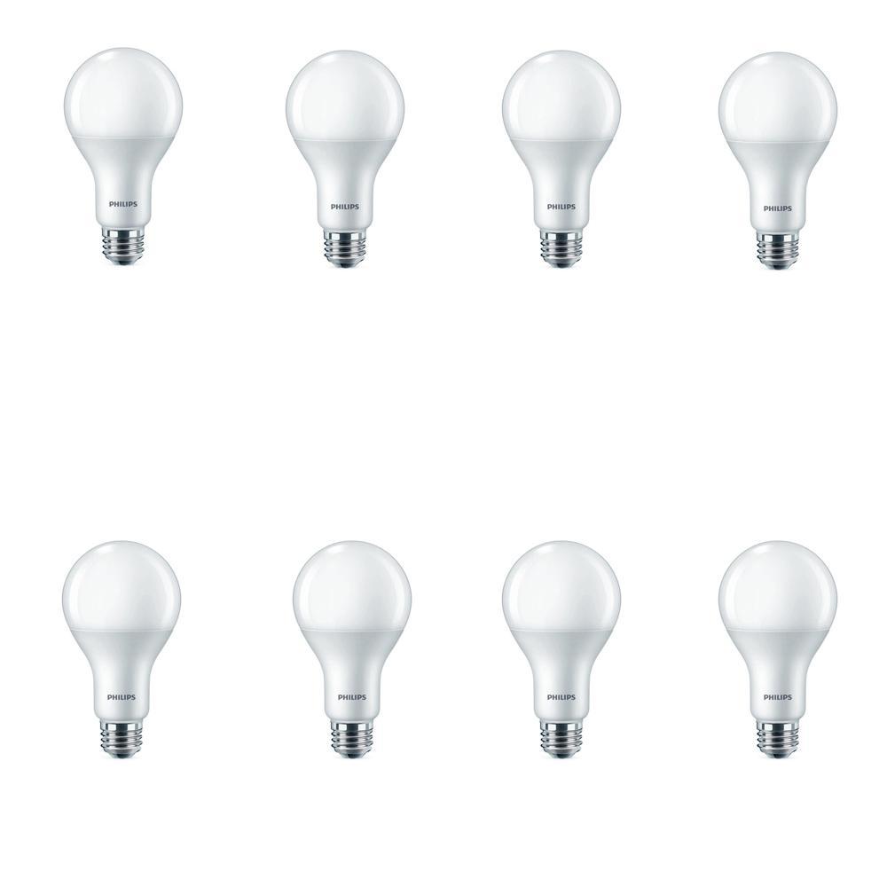 75-Watt Equivalent A21 Dimmable LED Daylight Light Bulb (8-Pack)