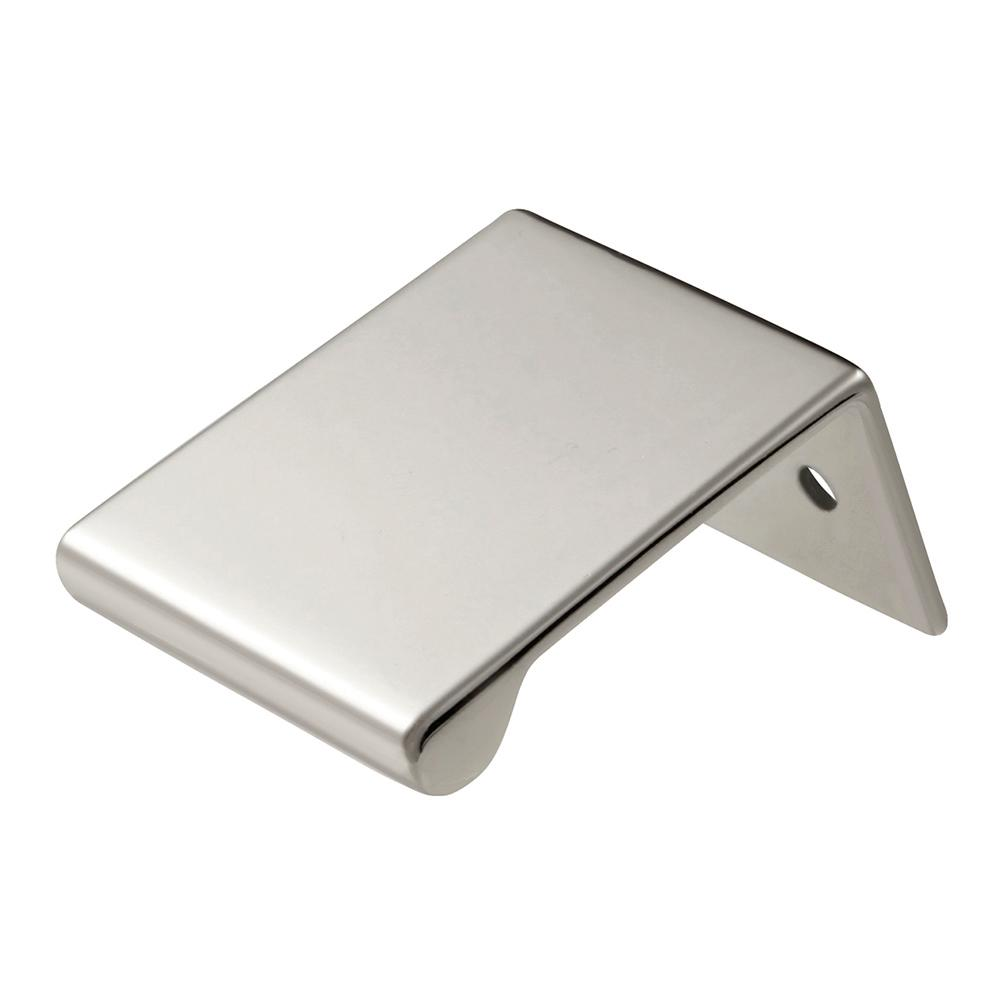 Rotterdam Collection 1 in. C/C Polished Nickel Cabinet Pull