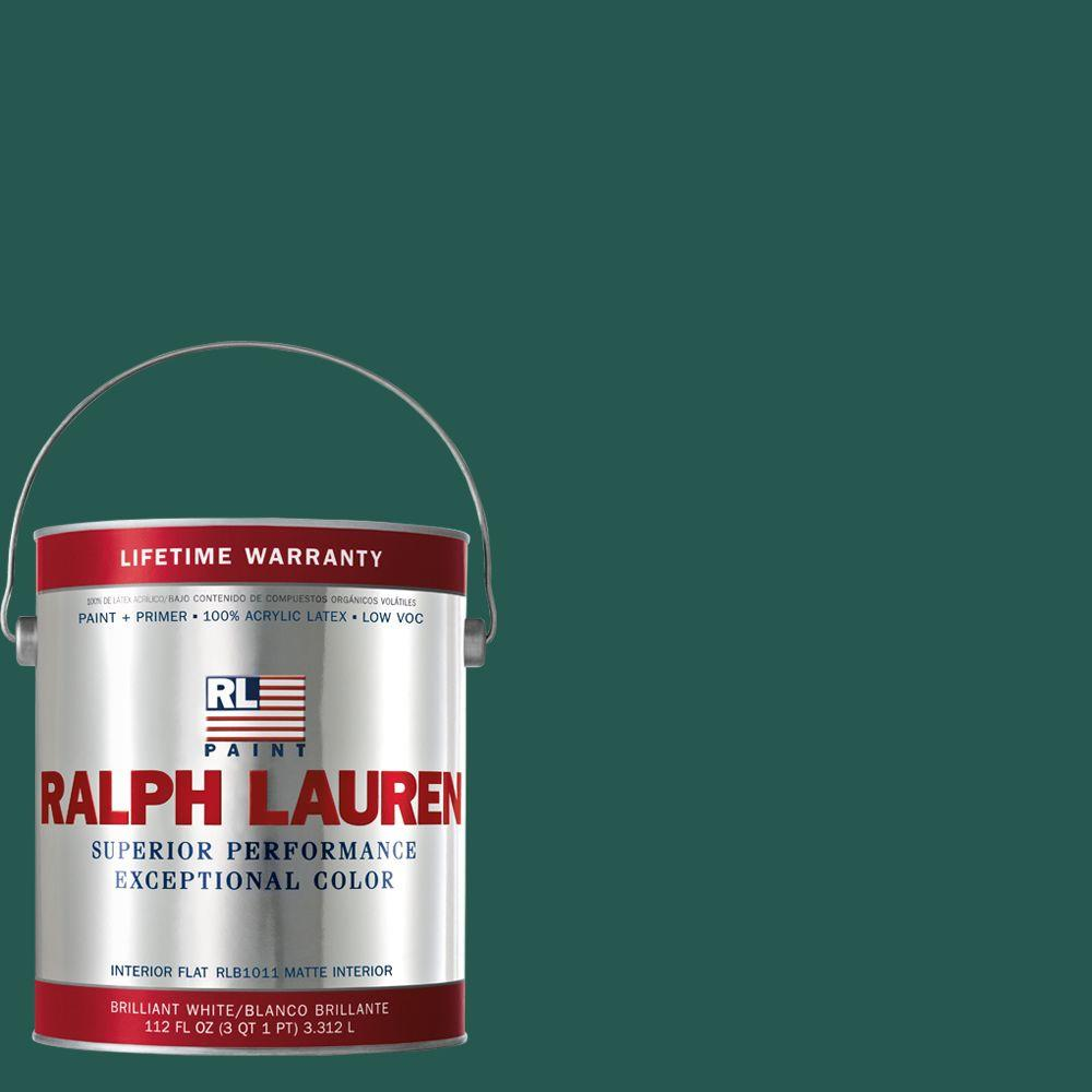 Ralph Lauren 1-gal. Archer Green Flat Interior Paint