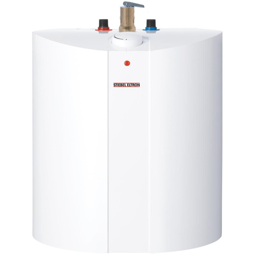 stiebel eltron shc 6 gal 2 year mini tank electric water heater shc 6 the home depot. Black Bedroom Furniture Sets. Home Design Ideas