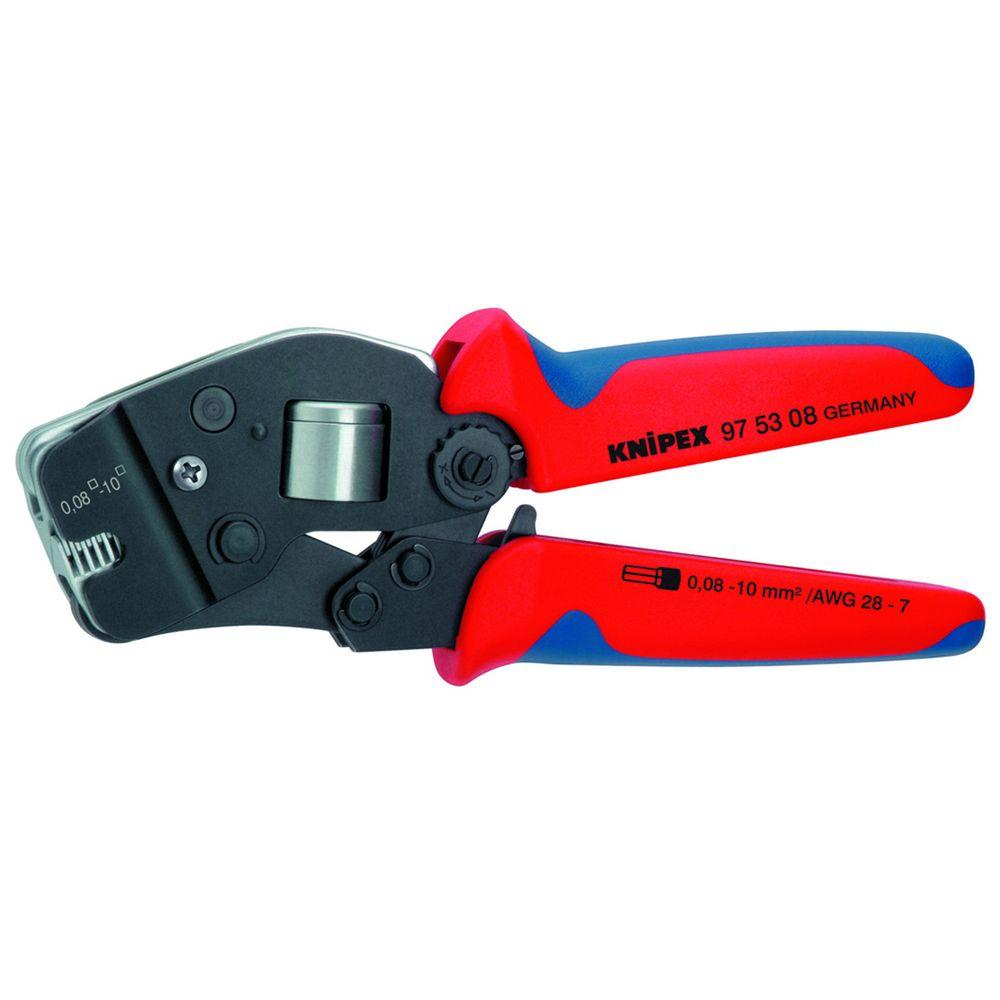 Knipex 7-1/2 in. Crimping Pliers with Self Adjusting