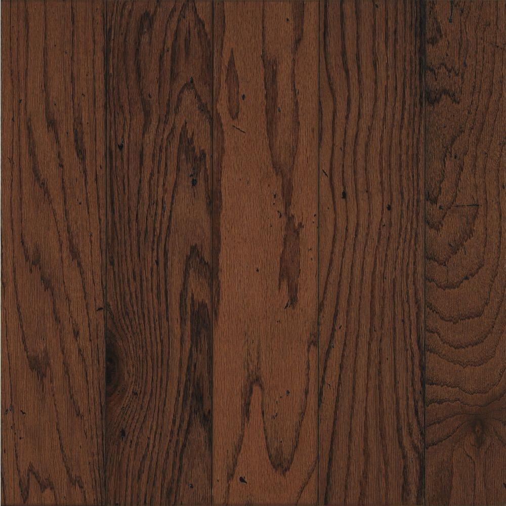Bruce Take Home Sample - Oak Ponderosa Engineered Hardwood Flooring - 5 in. x 7 in.