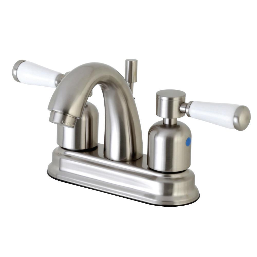 Paris 4 in. Centerset 2-Handle Bathroom Faucet in Brushed Nickel