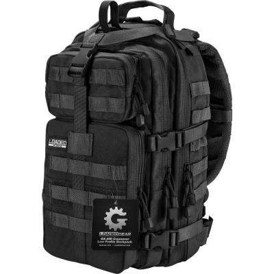 Loaded Gear GX-400 Medium 16 in. Black Ballistic Nylon Crossover Backpack