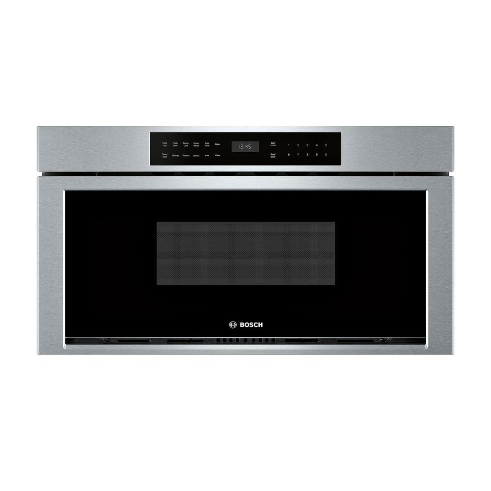 Bosch 800 Series 30 In 1 2 Cu Ft Built Drawer Microwave Stainless Steel With Sensor Cooking