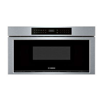 800 Series 30 in. 1.2 cu. ft. Built-In Drawer Microwave in Stainless Steel with Sensor Cooking