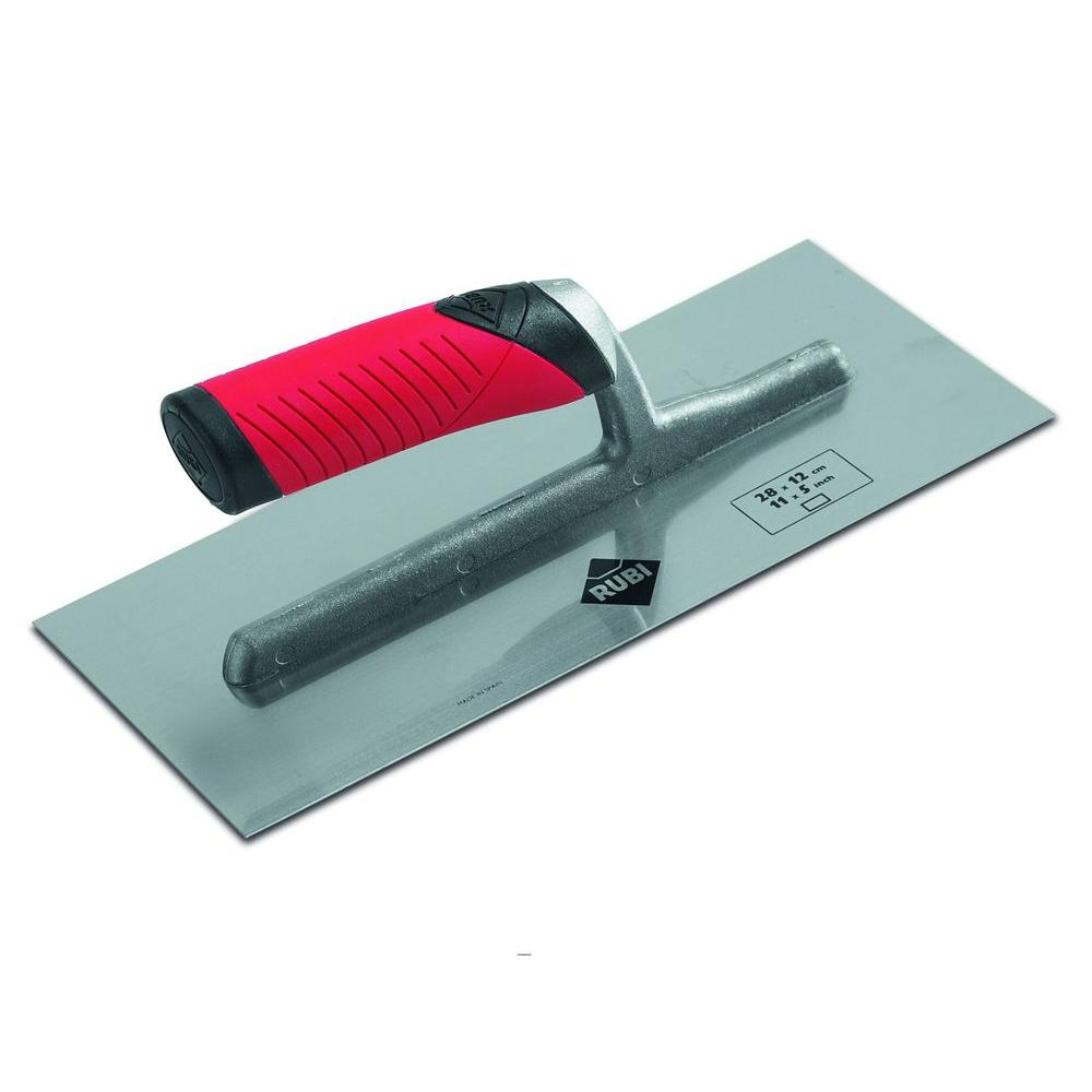 Rubi 4 in. Steel-Notched Finishing Trowel-DISCONTINUED